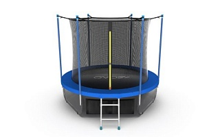 Батут EVO Jump Internal 10ft (Sky) + Lower net