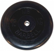 Barbell диски 15 кг 26 мм